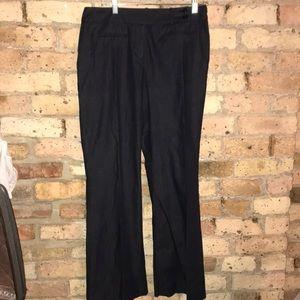 Loft cotton/spandex  flat panel pants